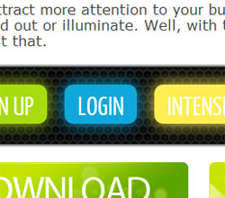 jQuery illuminate : jQuery plugin to shine your CSS buttons