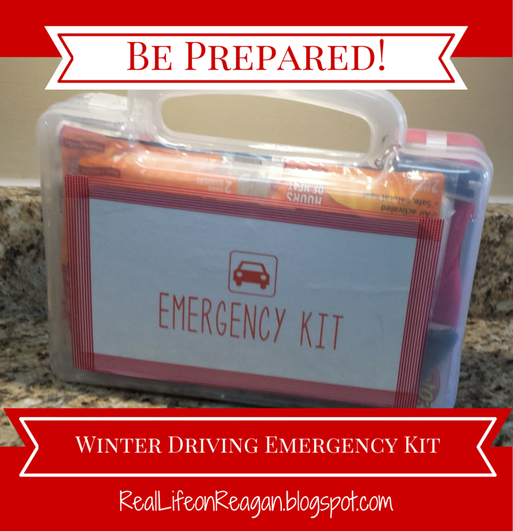 Winter Driving Emergency Kit