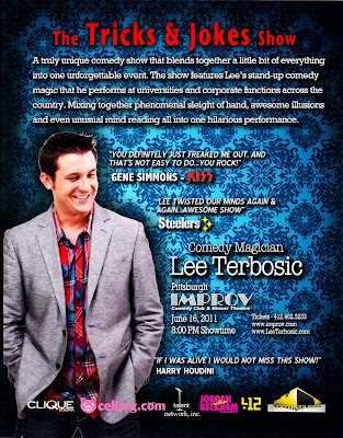 Lee Terbosic, Magic Comedy, Improv, Pittsburgh, Mike Wysocki, WDVE