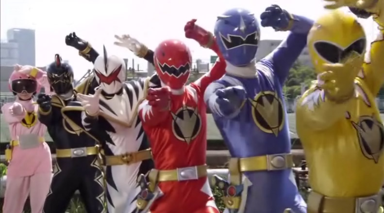 abaranger+abapink Power Rangers Megaforce (2013)  update episode 9