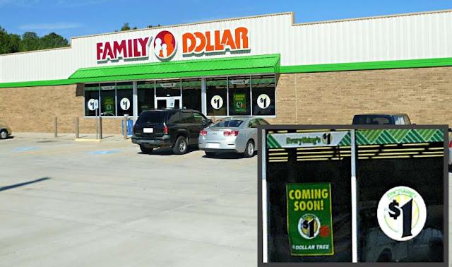 Texarkana, Wake Village, Dollar Tree, Family Dollar, Discount stores