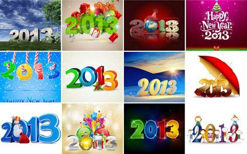 imagenes, postales, fondos y wallpapers de año nuevo 2013 gratis para compartir