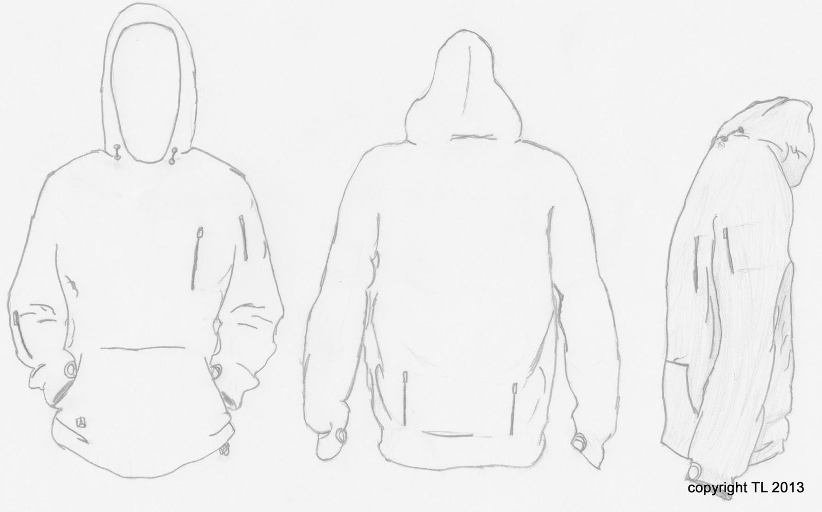 cool hoodie designs its basically a ranger hoodie
