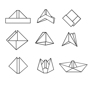 creative activity for children making a paper boat buyer 39 s guide kids toys party toys. Black Bedroom Furniture Sets. Home Design Ideas