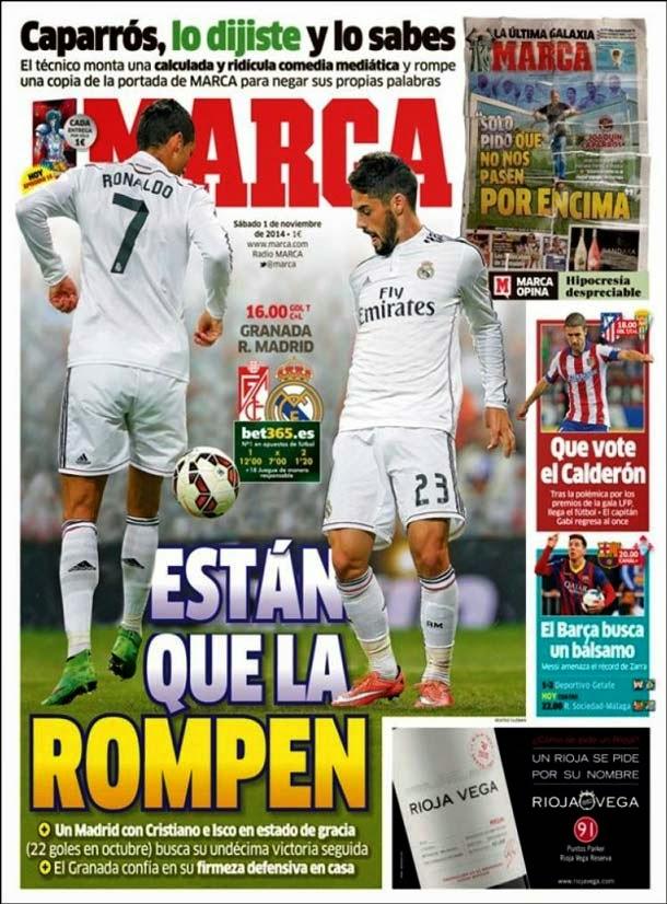 Portada Marca (1/11/2014)