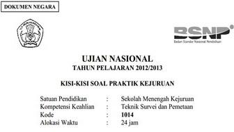 Download Kisi Kisi Ujian Smk Tahun 2013 Semua Jurusan Miscelanous