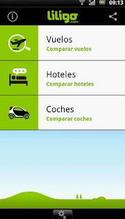 liligo app viajes android