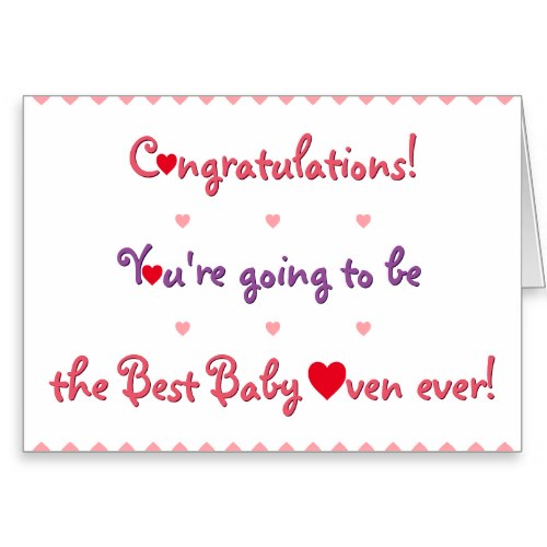 Congratulations Mom To Be | Funny Pregnancy Card