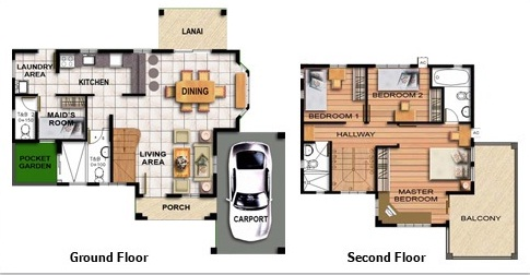 House design and floor plan philippines
