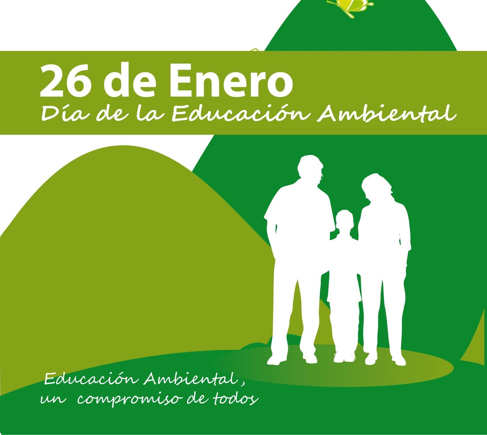 26 de enero Dia de La educación ambiental