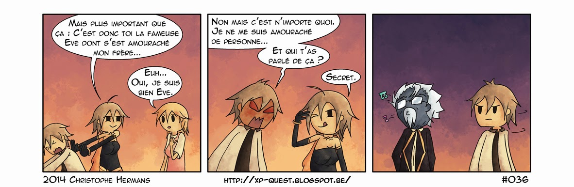 webcomic xp quest