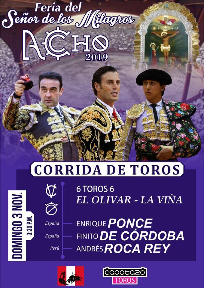 PRIMERA CORRIDA ACHO 2019