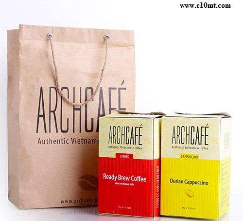 Combo 2 Hộp Archcafé Cà Phê Sữa Đặc và hộp Cappuccino Sầu Riêng