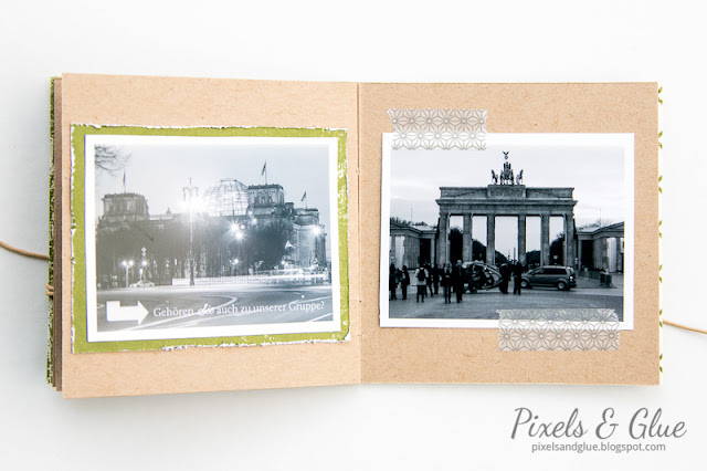 Travel Mini Album Berlin | Reichstag Building and Brandenburg Gate