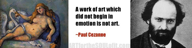 paul cezanne quote a work of art which did not begin...