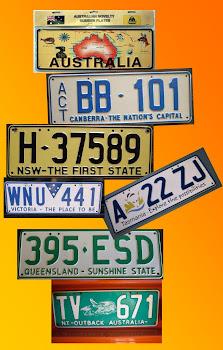 Jak szaleć to na całego! Dlatego każdy stan ma własne, niepowtarzalne tablice rejestracyjne:)