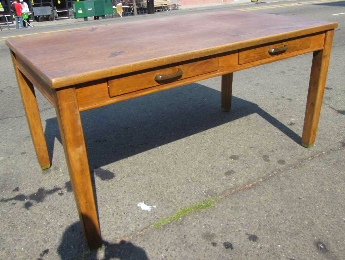 Wooden Library Furniture ~ Uhuru furniture collectibles sold wood library table