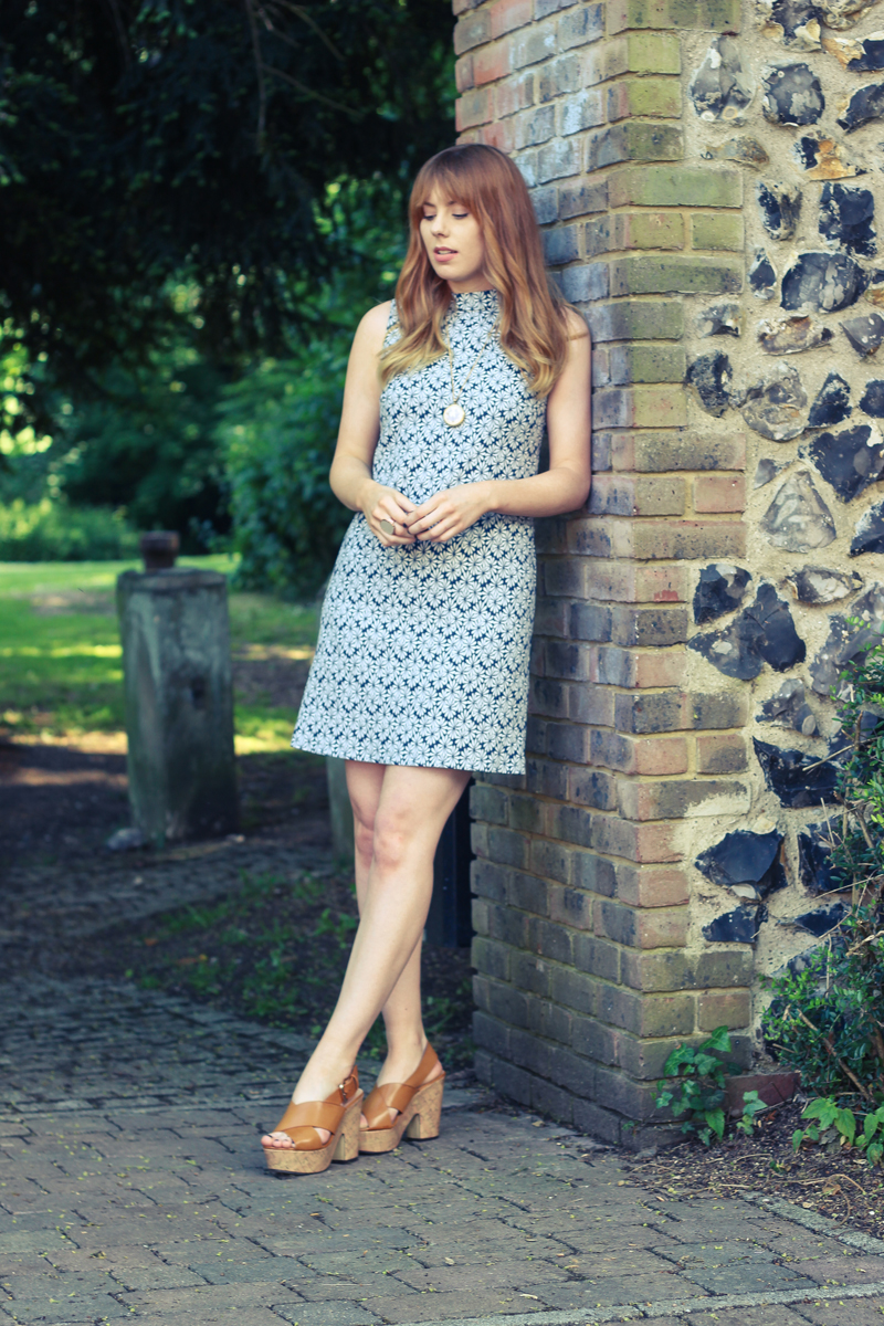 F&F Jacquard Mini Dress - The Goodowl