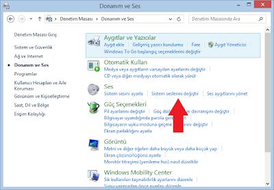 Windows başlangıç sesi kapatma