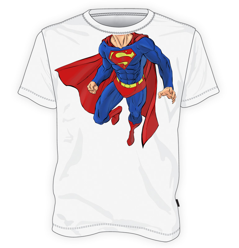 Superman ciało