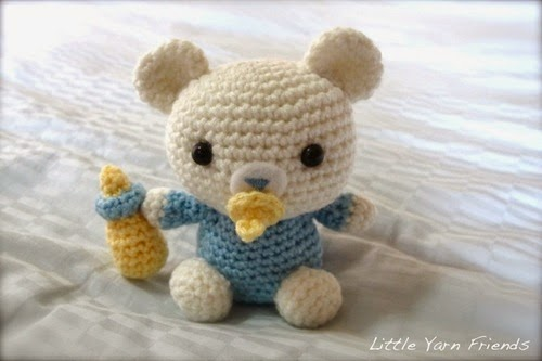 2000 Free Amigurumi Patterns: Crochet Pattern: Lil\' Baby Bear