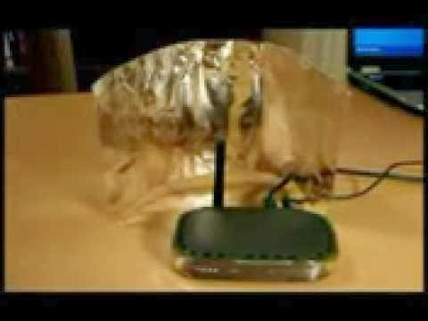 بالفيديو طريقة مبتكرة لتقوية اشارة الموديم والوايرلس
