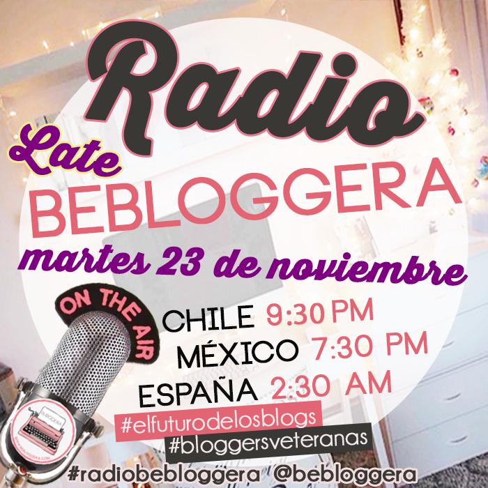 #Radiobebloggera: Tips para #bloggersveteranas en #elfuturodelosblogs