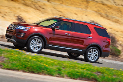 2016 Ford Explorer Debuts In Sub-Saharan Africa With Enhanced Smart Technology