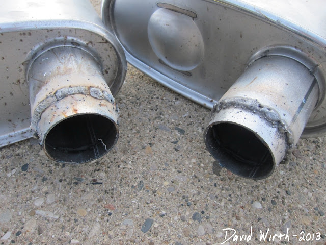 how to weld, muffler pipe, exhaust