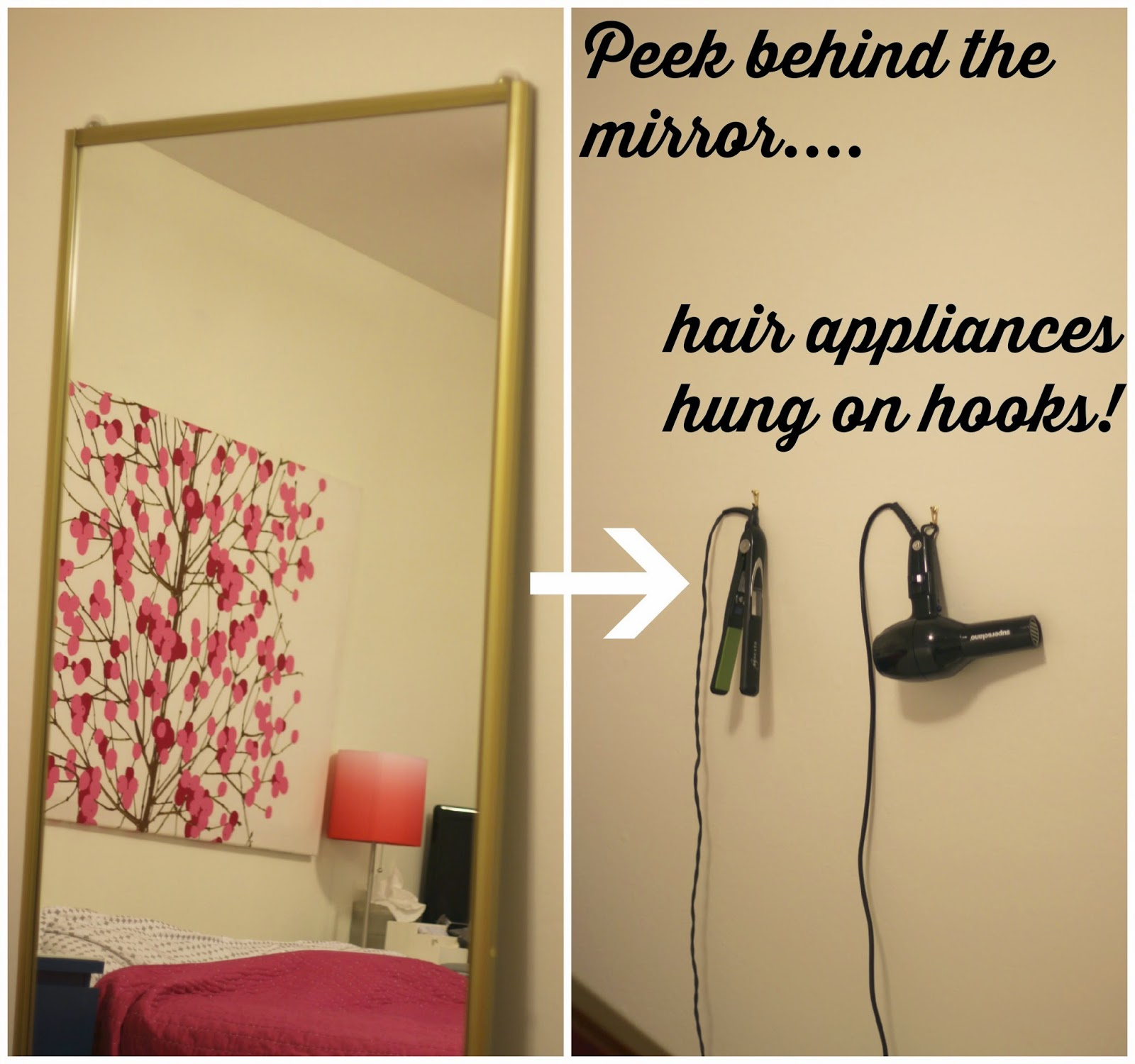 How to store hair appliances