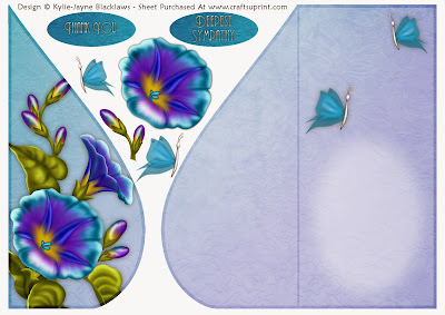 http://www.craftsuprint.com/card-making/folded-cards/tear-drop-female/blue-petunia-and-butterflies-teardrop-card-2.cfm