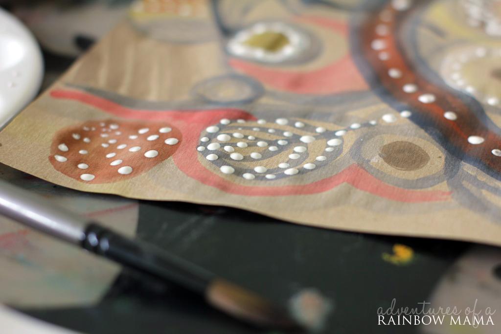 Aboriginal Inspired Art