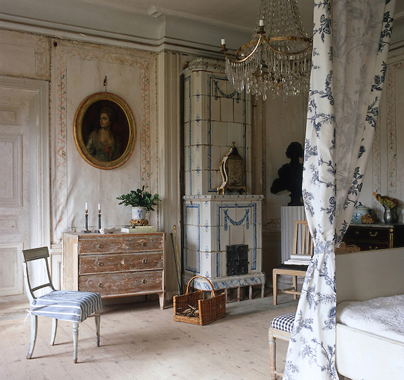 Throughout Ekensberg Manor Outside Stockholm, Sweden, Many Of The Pine  Floors Were Whitewashed (above And Below Photos, Both By Simon Upton For  House ...