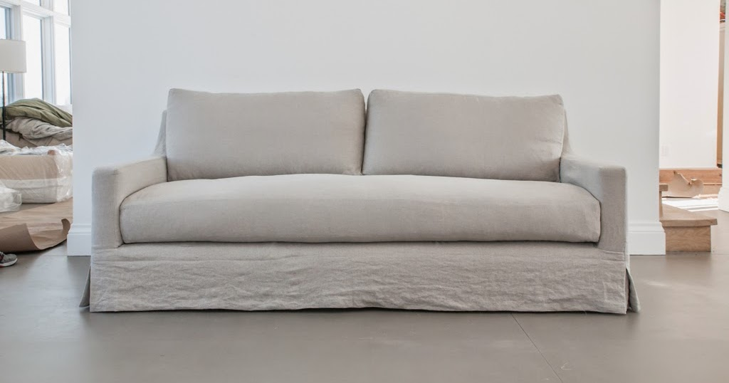 Building Walnut Farm: Belgian Linen Slipcovered Furniture ...
