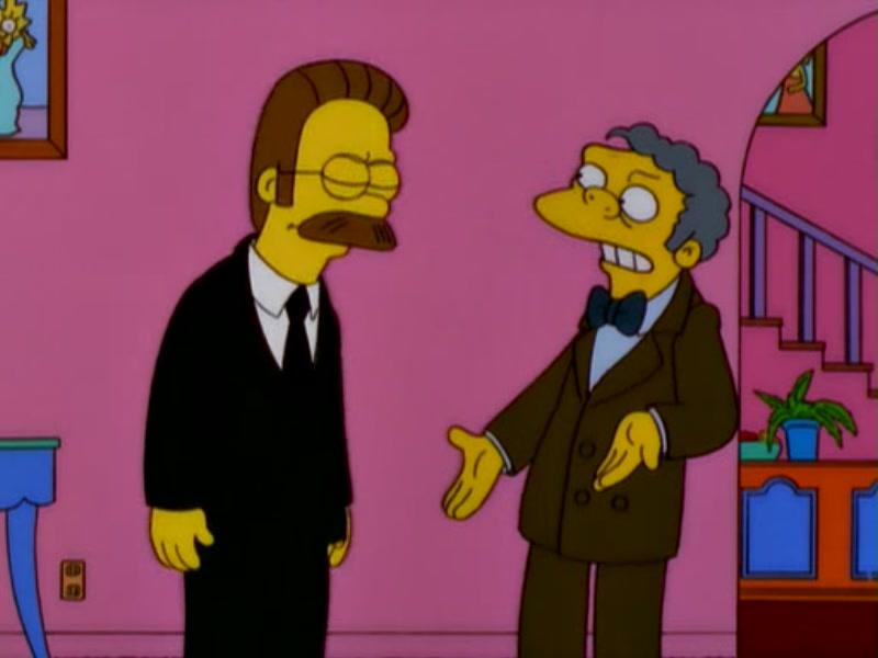 Simpson episode ned dating christian singer