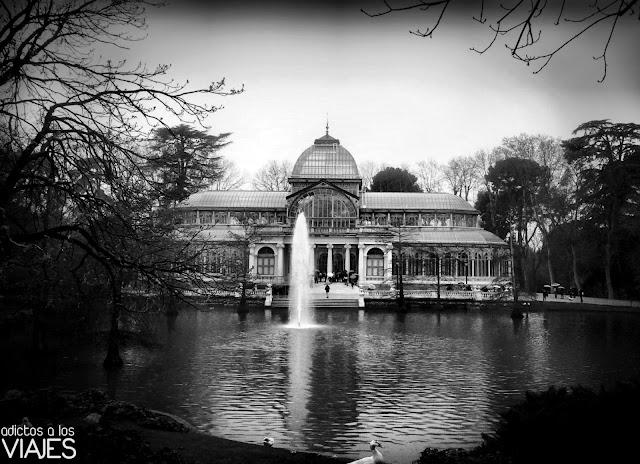 Palacio de Cristal en el Parque del Retiro madrid
