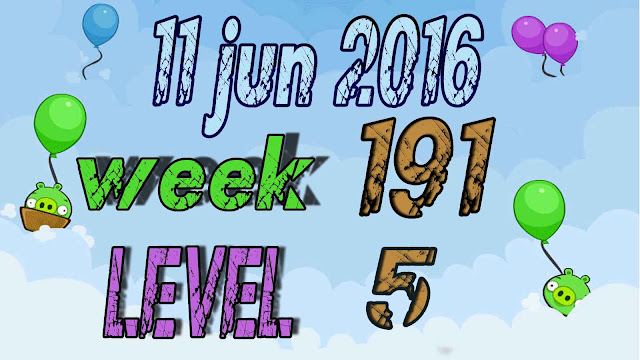 Angry Birds Friends Tournament level 5 Week 191