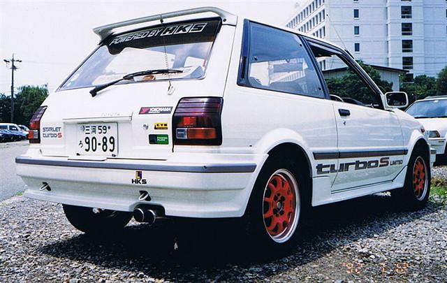 Toyota Starlet, P7