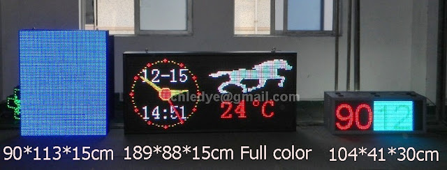 Tri color Led Programmable Displays, Led Advertising Sign