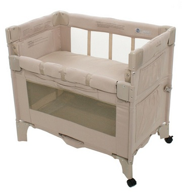 Bassinet Attached To Bed3