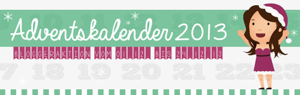 Vorankündigung: Blogger Adventskalender 2013 - Tanja's Everyday Blog