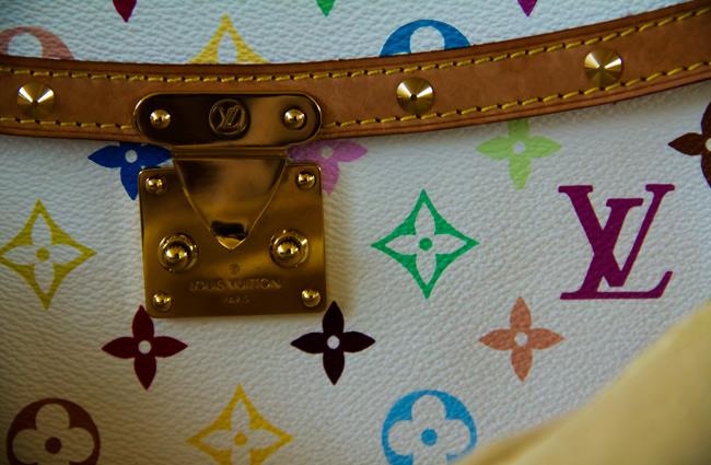 louis vuitton multicolor sologne in white, LV, designer cross body purse