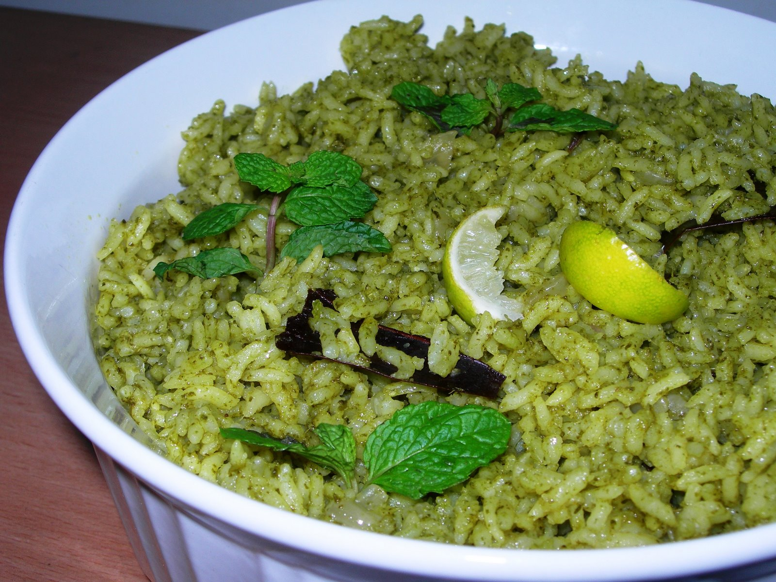 Pudina (mint) Lemon Rice | Michael Bonnici
