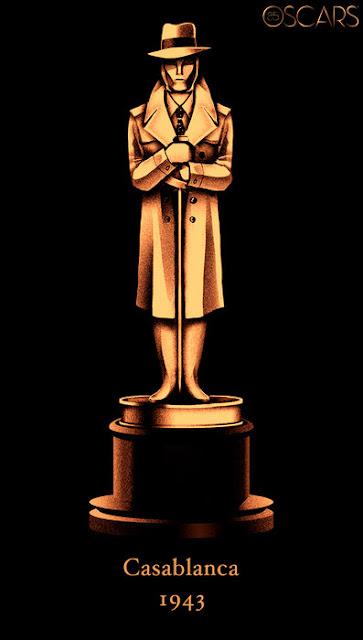 Oscars 2013 Poster Casablanca 1943