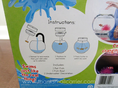 Gemmy Fincredibles instructions