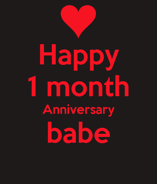 1 month anniversary quotes for girlfriend