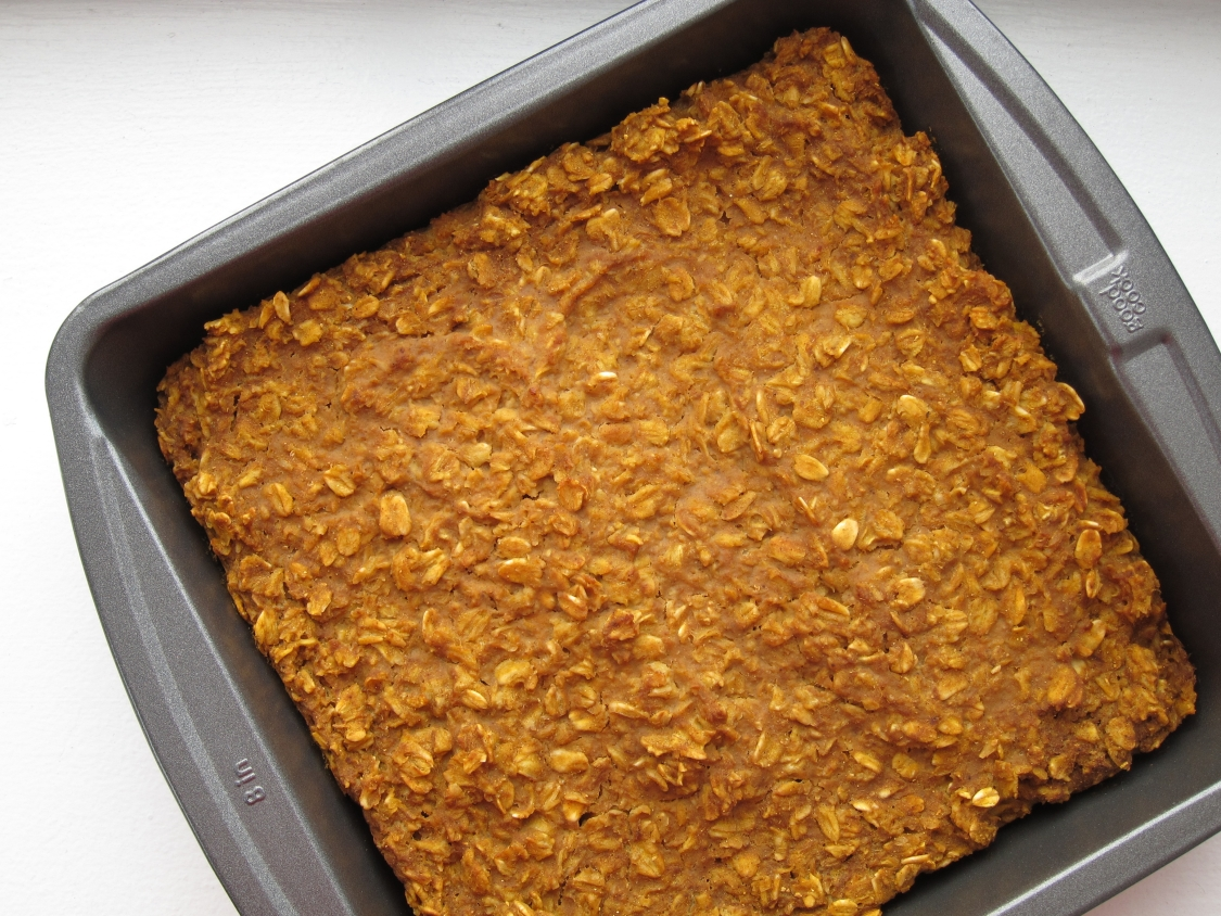 The Oatmeal Artist: Pumpkin Pie Baked Oatmeal