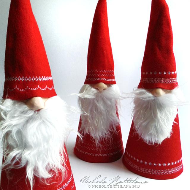 Christmas Gnome / Tomte - Nichola Battilana