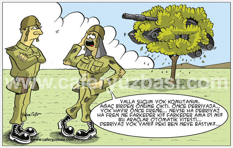 kadin sürücü-Kadinlar Asker Olursa?