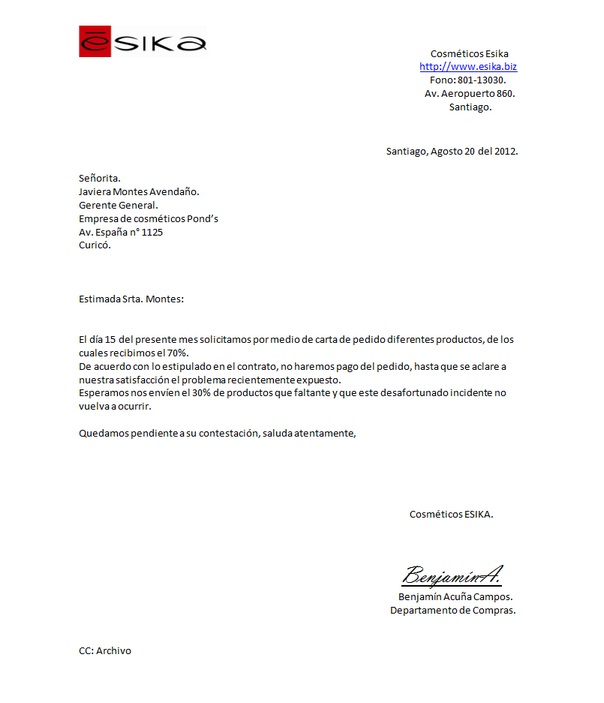 Download image Carta De Reclamacion PC, Android, iPhone and iPad ...
